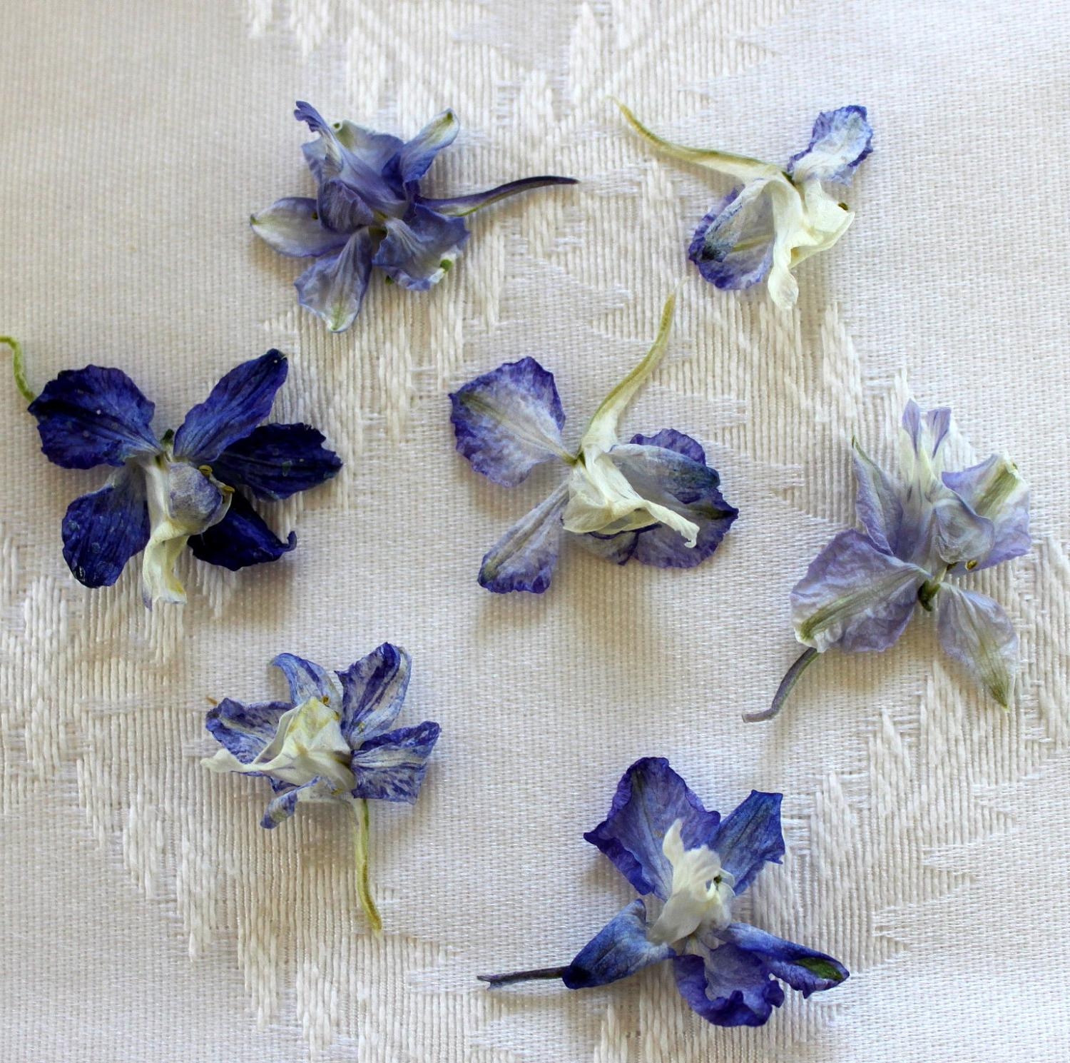 Lavender Wedding Flowers 1000 Dried Larkspur. From LarkspurHill