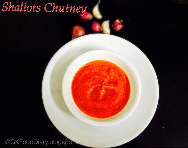 Spicy Small onion Chutney Recipe