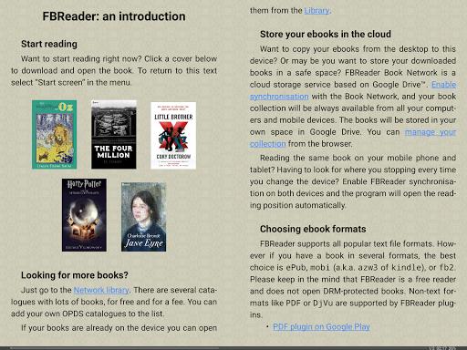FBReader: Favorite Book Reader screenshot 8