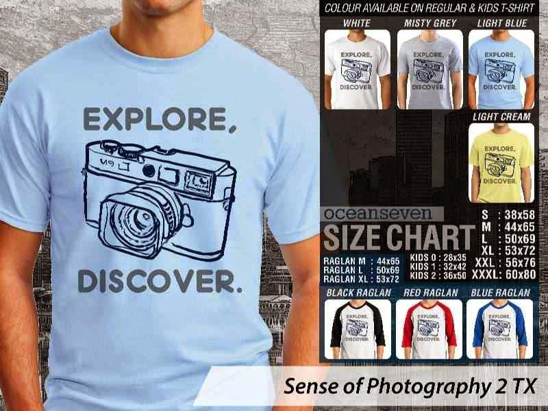 Kaos kamera Sense of Photography 2 Photography distro ocean seven