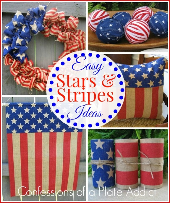 CONFESSIONS OF A PLATE ADDICT Easy Ideas in Stars and Stripes