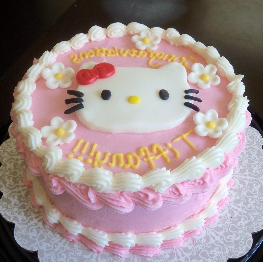 Hello Kitty Womanhood Cake by