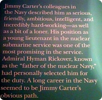 Carter in the Navy