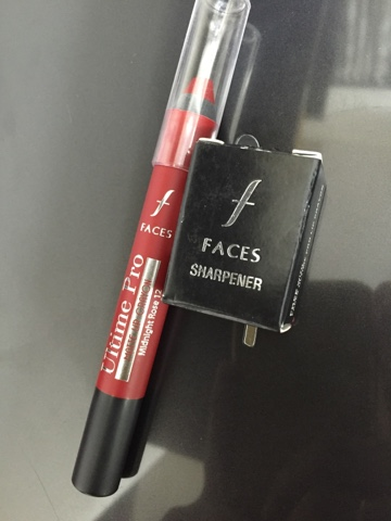 Faces Ultimate Pro Matte Lip Crayon in Midnight Rose