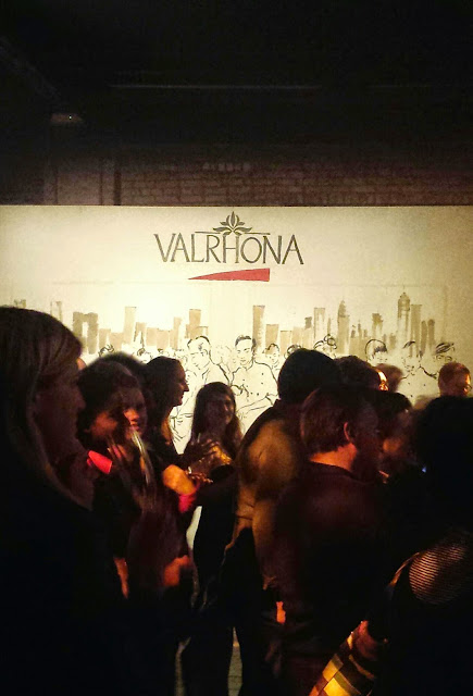 Valrhona party live art
