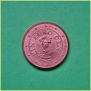 Austria 1 céntimo Euro