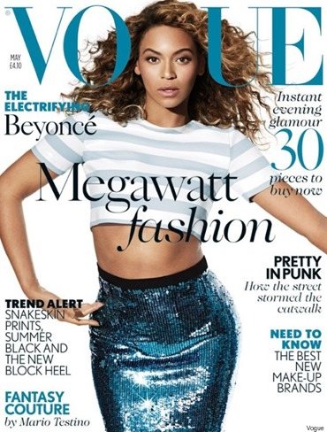 Beyonce British Vogue May 2013
