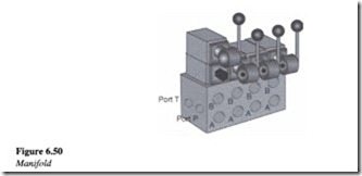 Control components in a hydraulic system-0173