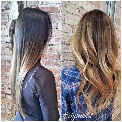 Ombre Vs Balayage Hair