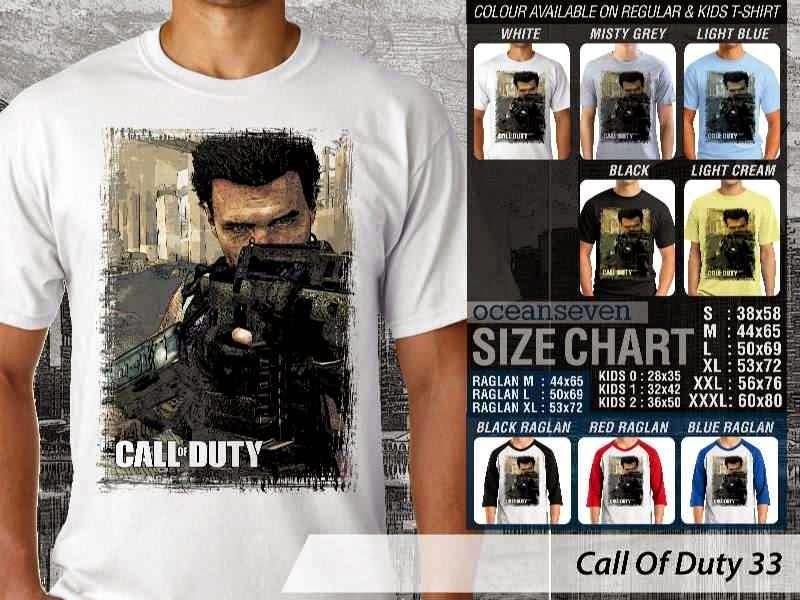 KAOS cod Call Of Duty 33 Game Series distro ocean seven