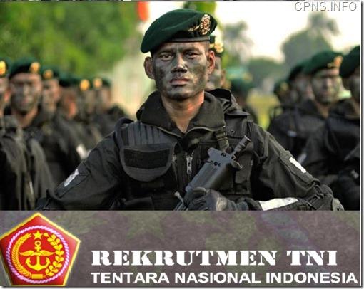 Penerimaan Calon Bintara TNI Angkatan Darat 2015 Lulusan SMA