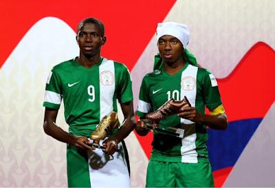 FIFA admits Nwakali bronze boot error, rewards Chukwueze