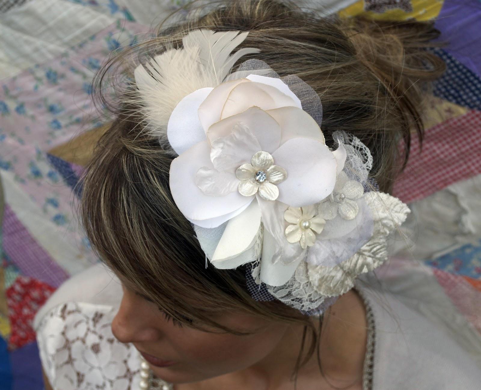 rhinestone hair piece bridal