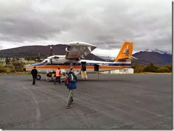 retour à Punta Arenas depuis Puerto Williams