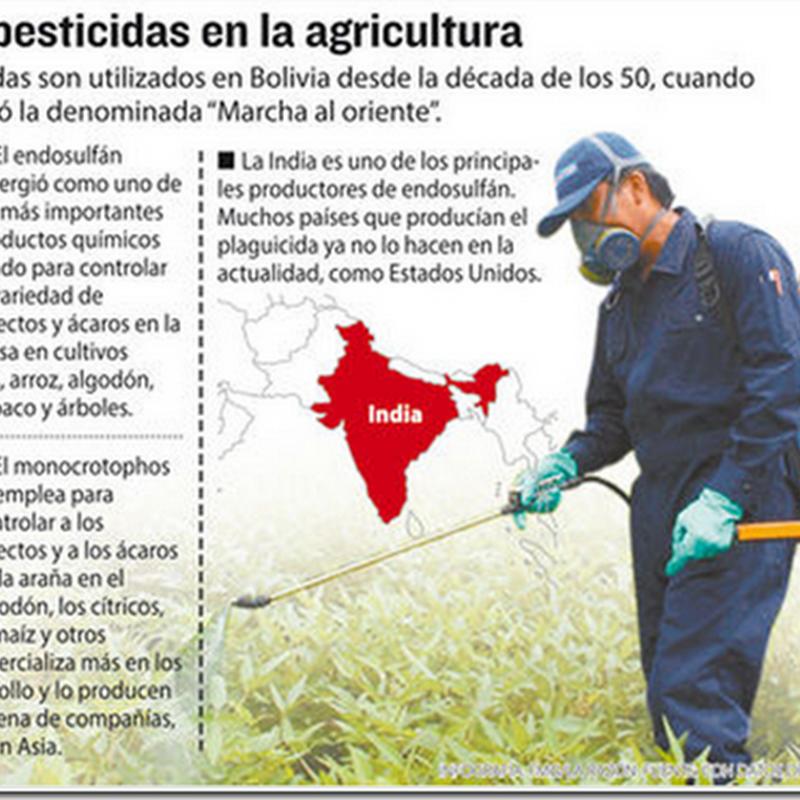 Retiran de Bolivia dos plaguicidas por riesgos de esterilidad y cáncer