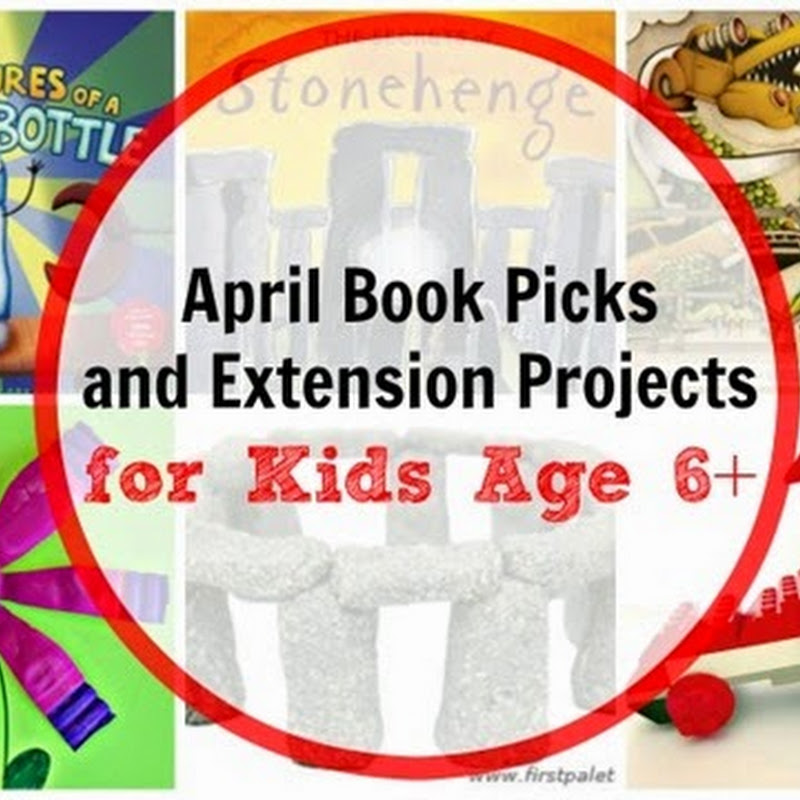 6 April Books for Kids Age 6+