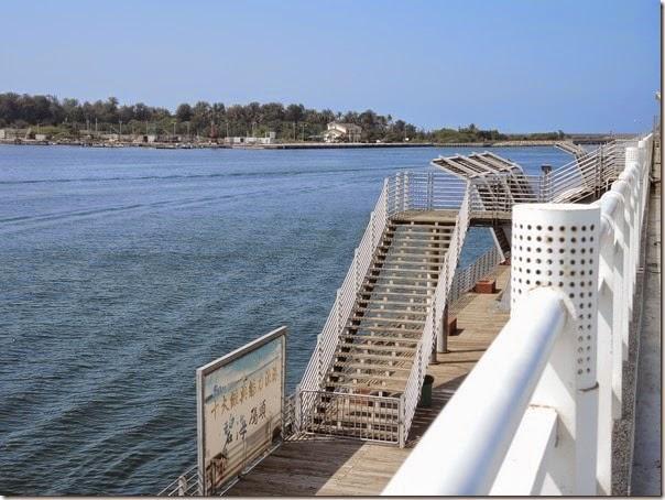 碧海碼頭的海景