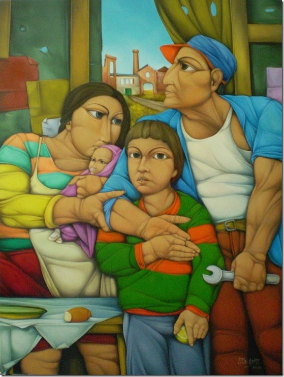 El abrazo-Pablo-Solari-ENKAUSTIKOS