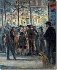 Maximilien-Luce-Winter-Street-scene