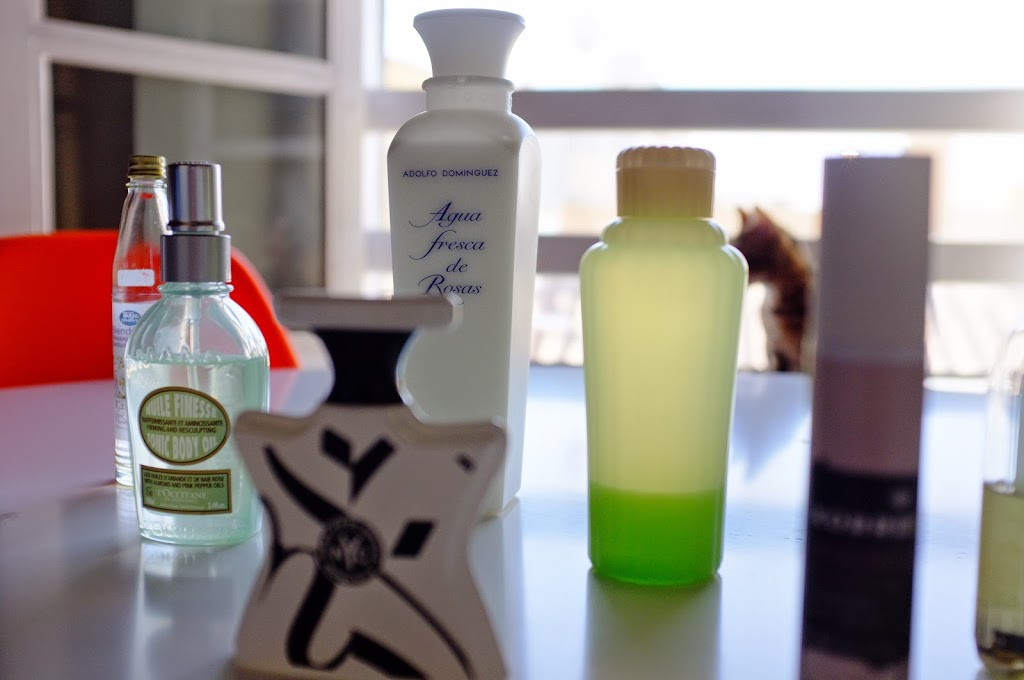 cosmetics from all over the world
