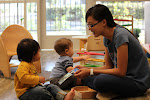 LePort Private School Irvine - Montessori infant daycare teacher working with babies