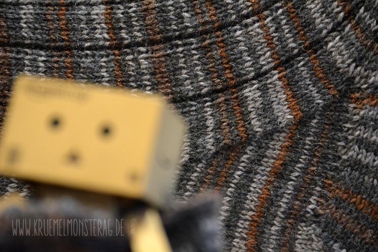 6zehn 20fünfzehn (04) Lana Grossa Meilenweit Grey Rippen Größe 42_43