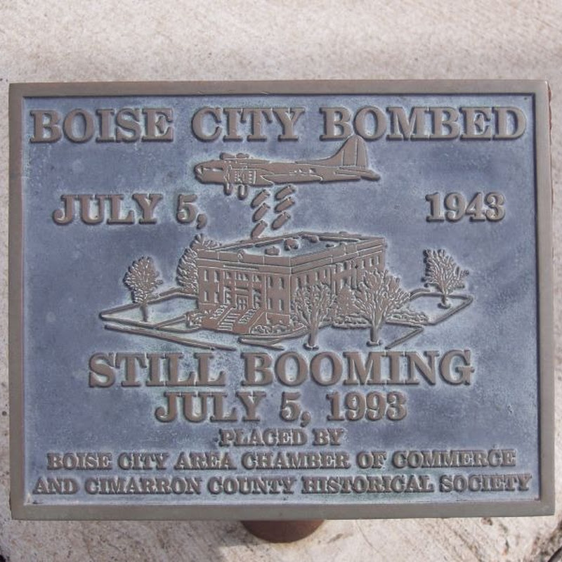 The Accidental Bombing of Boise City