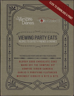 Viewing Party Eats - Thoughts in Progress