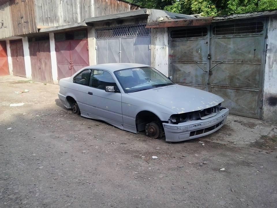 Roţi furate BMW Rădăuţi