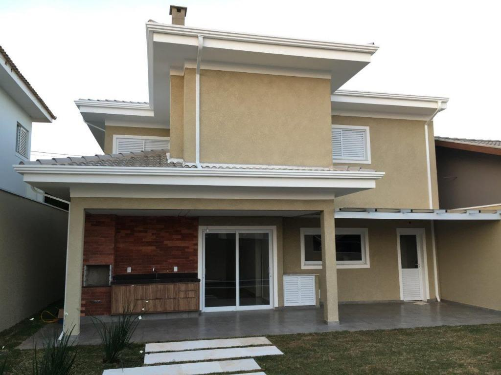 Casa 4 Dorm, Condomínio Residencial Manacás, Paulinia (CA1149)