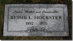 LINDSAY_Bessie married name HOCKSTER_headstone_GrandLawnCem_DetroitWayneMichigan