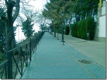 Vista del Paseo de las Murallas