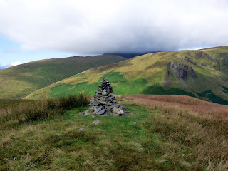 Cairn on Souther Fell with Blencathra?