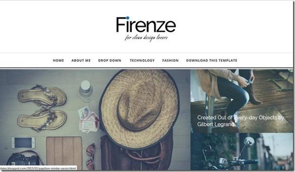 Firenze-Blogger-tema