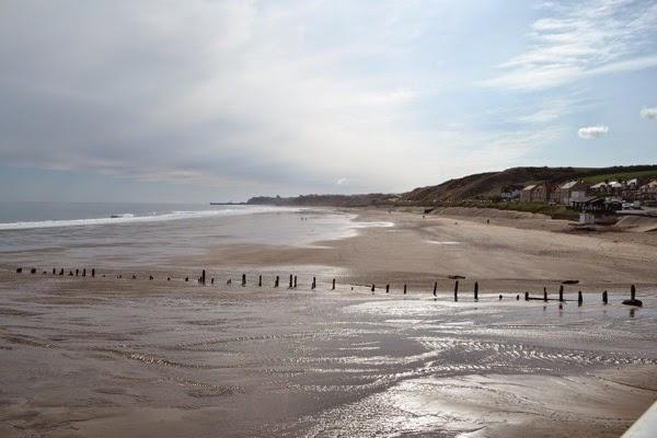 On the beach towards Whitby