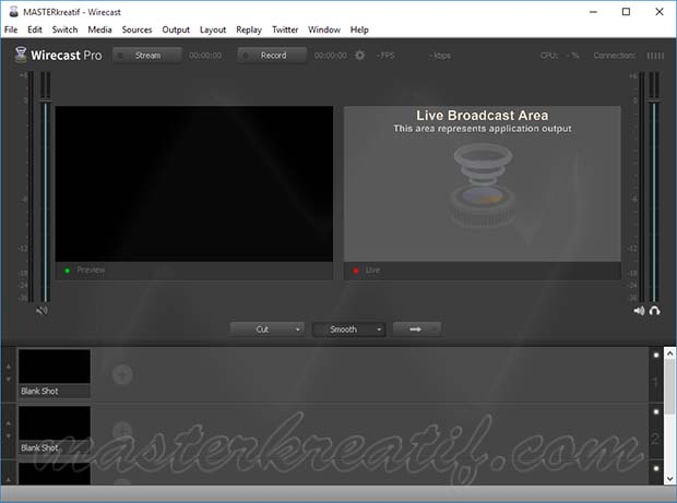 Wirecast Pro 6