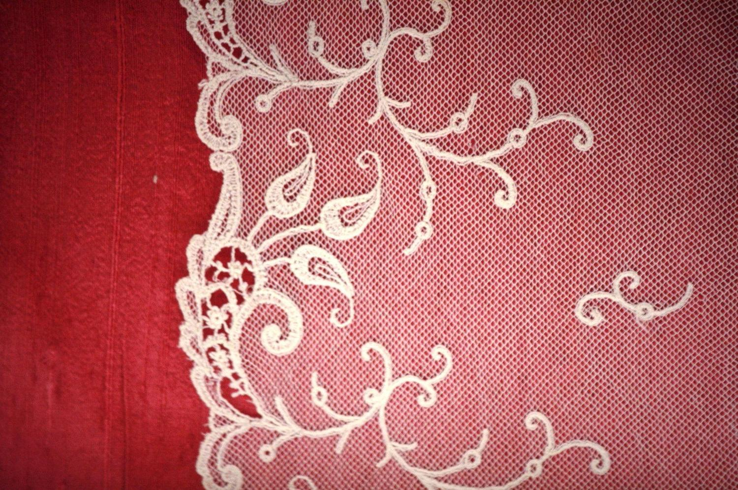 Custom Wedding Book, OOAK Lace