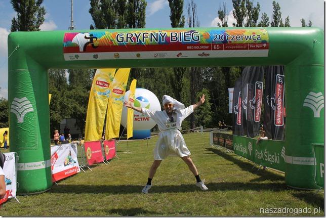 gryfny bieg, park śląski, festiwal kolorów, nasza droga do