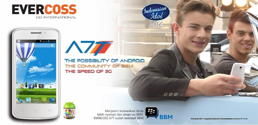 EverCross A7T - Spesifikasi Lengkap dan Harga - Ponsel Murah Untuk BBM