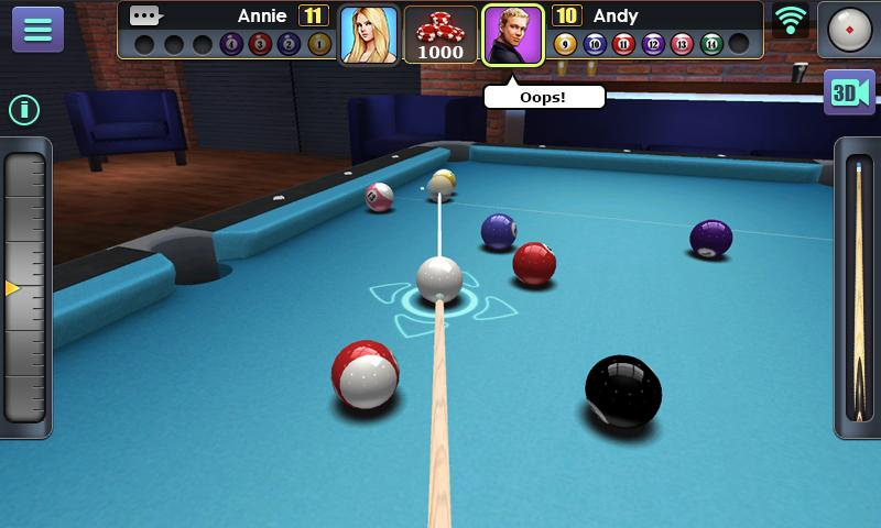 3D Pool Ball Screenshot 0