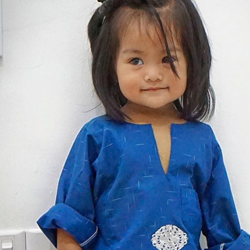 Rambut raya Zahra Nur Iman..