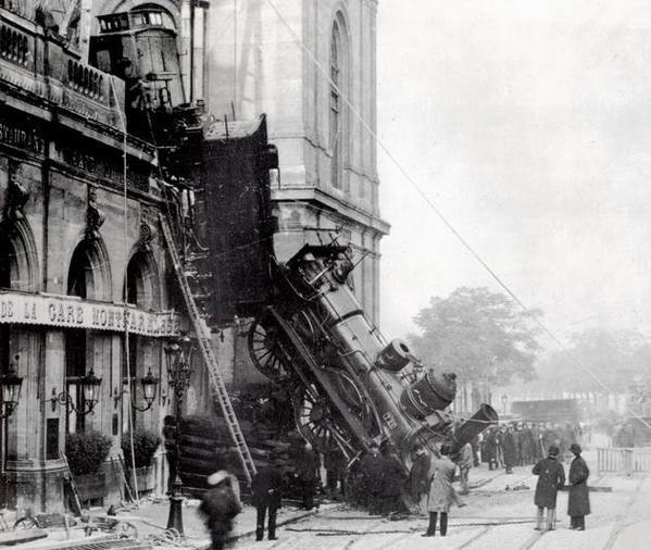 Gare Montparnasse 1895