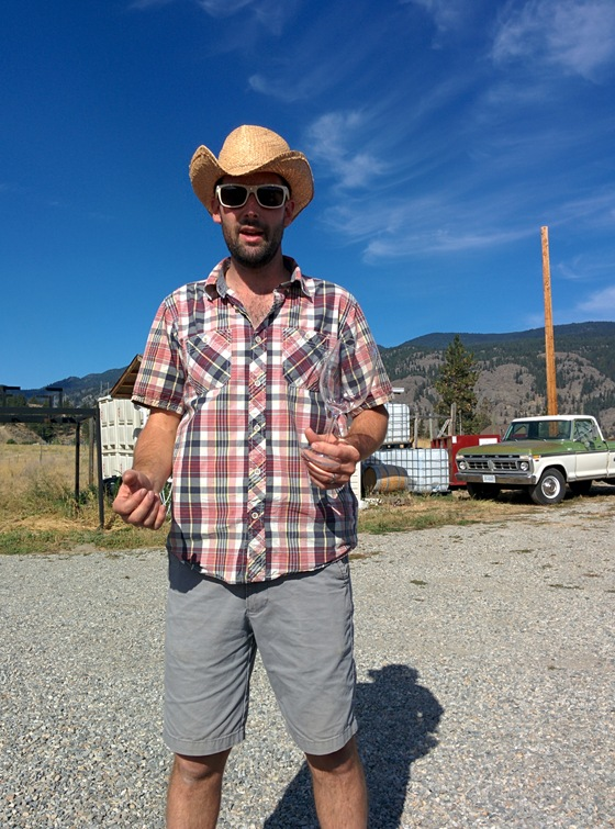 Alan Dickinson of Synchromesh is the Riesling wrangler