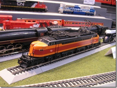 IMG_0704 HO-Scale Milwaukee Road Little Joe Electric Locomotive by MTH at the WGH Show in Puyallup, Washington on November 21, 2009