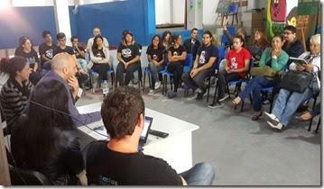 Reunión de presentación de la puesta en marcha de los programas de Inclusión Juvenil