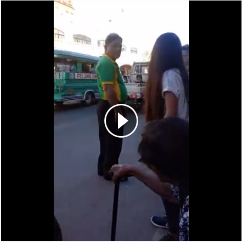 Image of Watch!Traffic Enforcer Refused to Help Teenage Girl Gone Viral