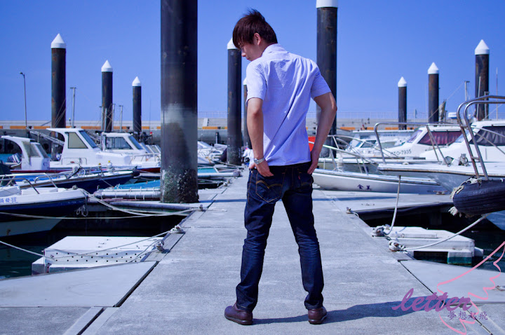 藍色調...海港風情