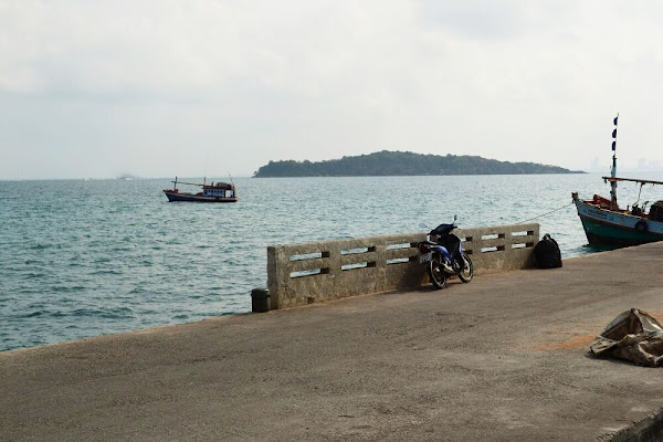 Остров Ко лан пирс причал