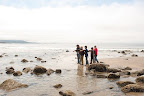 Everyone had a good time on the hike to the tidepools