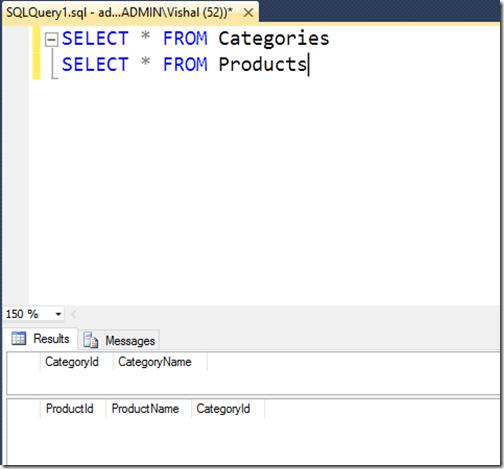 sql-server-database-with-no-data